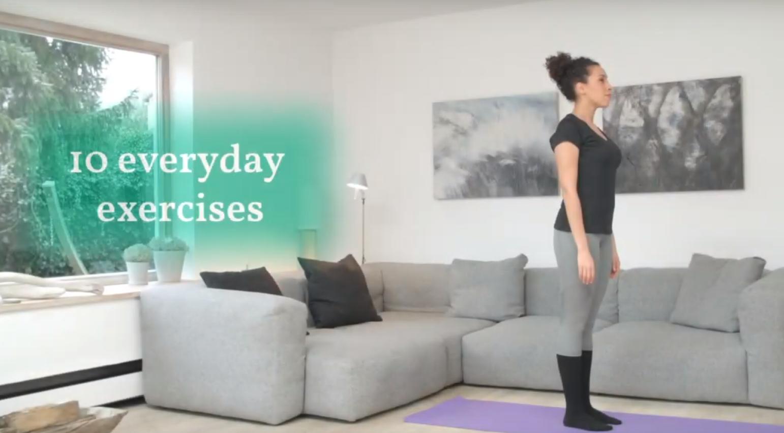 10 exercícios para todos os dias (vídeo)