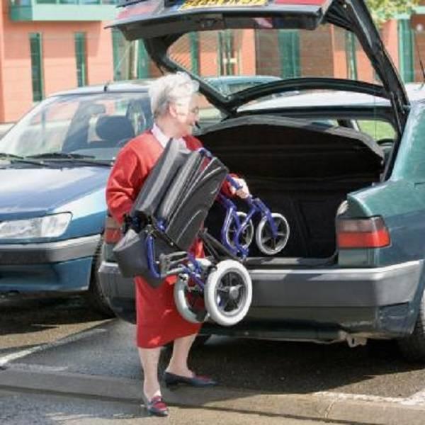 Alu Lite Cadeira de rodas Invacare Alu Lite 3