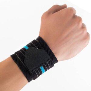 ACE501 Suporte elastico de pulso com banda Actius