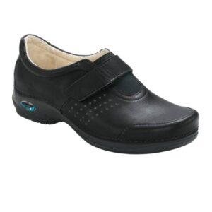 WG111 Sapato com velcro WashGo Milao Preto
