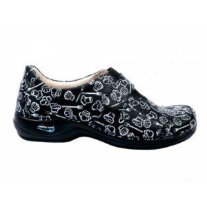 WG1F28 Sapato com velcro WashGo Milao Estampado Cozinha 1