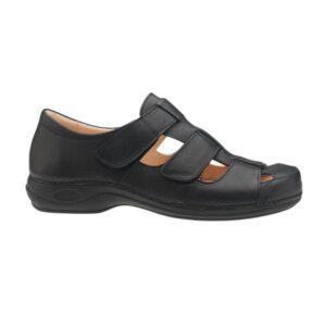C1311 Sandalia de homem Comfy Tua Preto 1