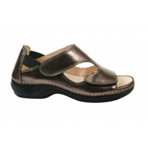 C3514 Sandalia de senhora ajustavel Comfy Bermuda Bronze 1