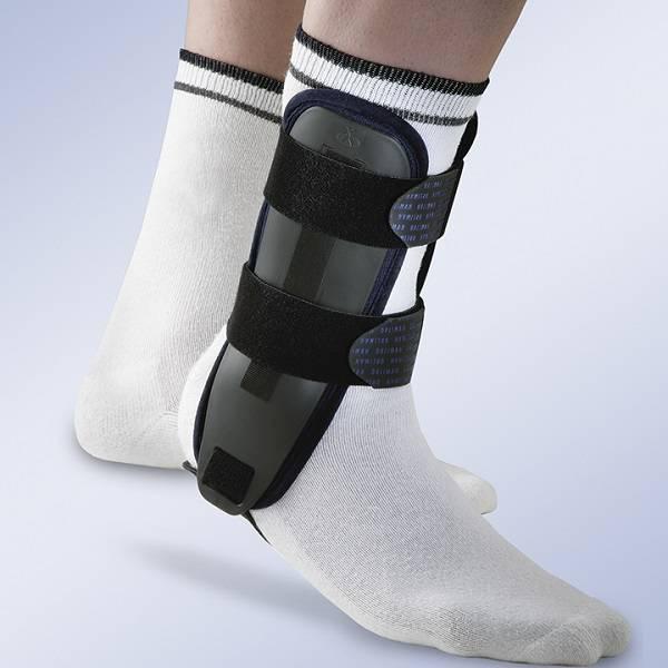 EST 085 Estabilizador de tornozelo com placas termoplasticas Orliman Valtec 2