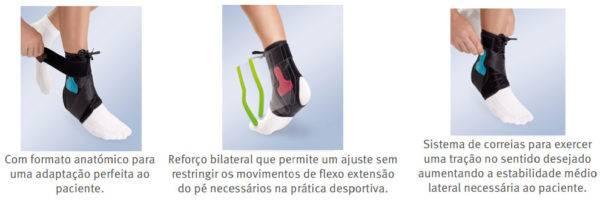 EST 090 Estabilizador de tornozelo Lace up Orliman Tobiplus info 1
