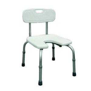 U213 Cadeira de banho com assento em ferradura Prim