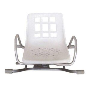 U276 Cadeira de banho giratoria em aluminio Prim