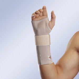 MF 60 Pulso elastico aberto com tala flexivel palmar removivel comprido Orliman