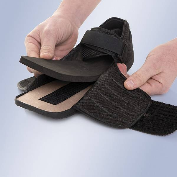 Sapato pós-cirúrgico para diabéticos e ulcerações CP04 D2